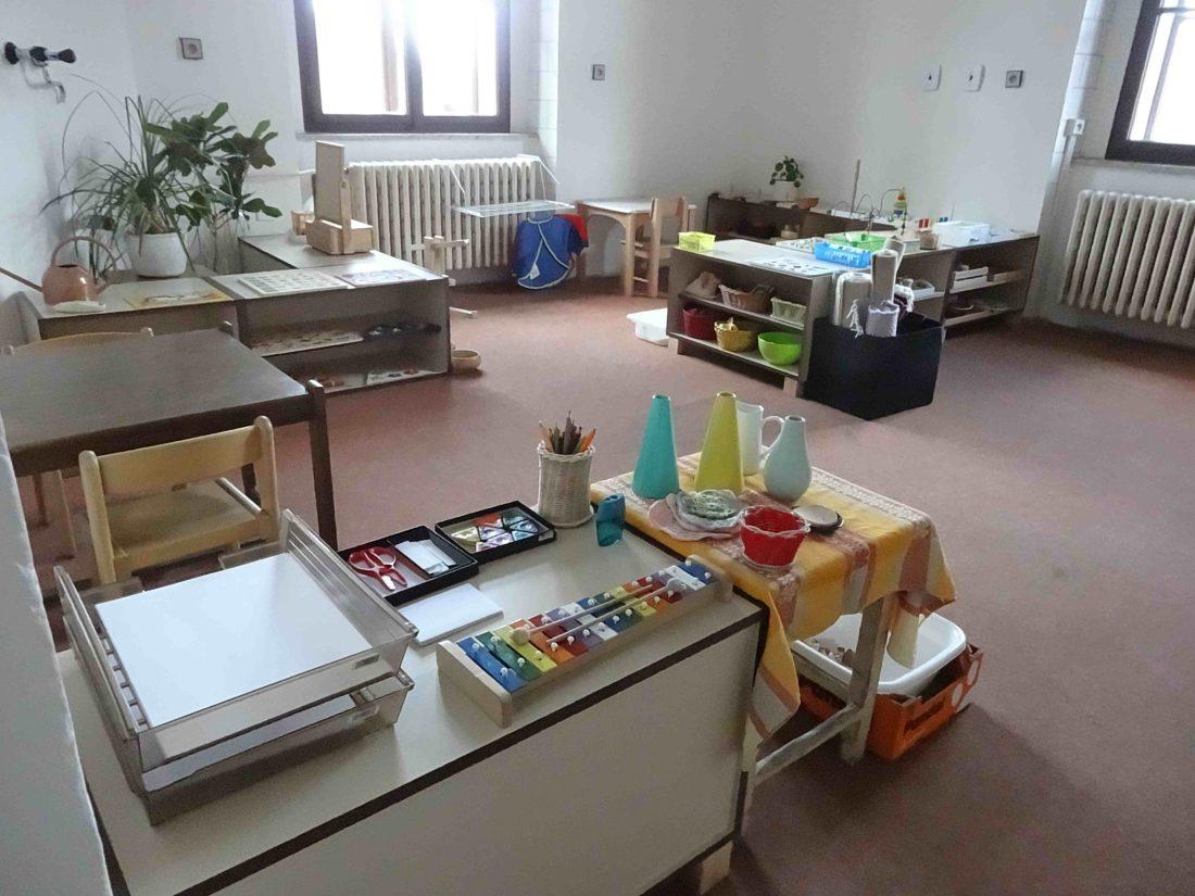 Montessori klub v Příbrami pro děti ve věku od 18 měsíců do 3 let